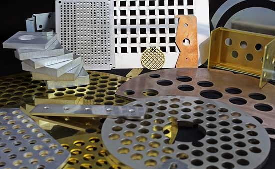 Metal prototypes created using our high-tech laser cutting and automated metal bending equipment