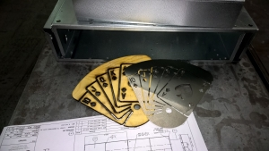 Laser cut cards